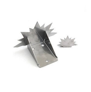 Metal Snow Guards Sun Burst Mill