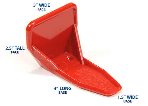 Red SnoBlox Deuce Dimensions
