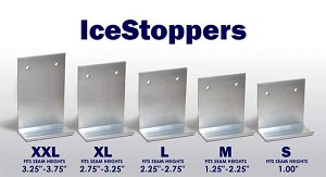 IceStoppers Sizes